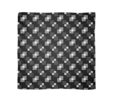 Square Pattern Designs: B&W Scarf