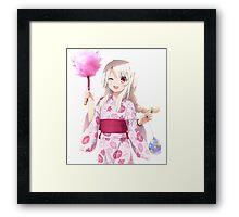 Fate/kaleid liner Prisma☆Illya - Illyasviel von Einzbern Framed Print