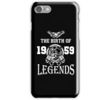 1959-THE BIRTH OF LEGENDS iPhone Case/Skin