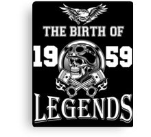 1959-THE BIRTH OF LEGENDS Canvas Print