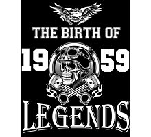 1959-THE BIRTH OF LEGENDS Photographic Print