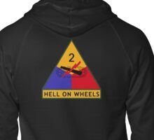 2nd Armored Division (United States) Zipped Hoodie