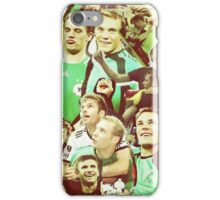 Neuer and Muller - German Football iPhone Case/Skin