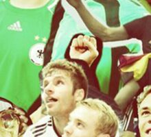 Neuer and Muller - German Football Sticker