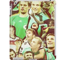 Neuer and Muller - German Football iPad Case/Skin