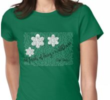 Perks of Eating the Waffle Hour Womens Fitted T-Shirt