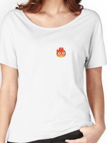 Cute Calcifer Women's Relaxed Fit T-Shirt