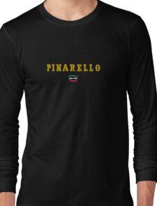 Pinarello Vintage Racing Bicycles Italy Long Sleeve T-Shirt