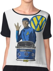 Spock ride VW Chiffon Top