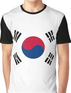 Living Korea Flag Graphic T-Shirt