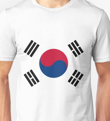 Living Korea Flag Unisex T-Shirt