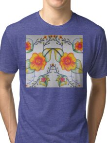 Flower of every month  Tri-blend T-Shirt