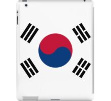 Living Korea Flag iPad Case/Skin
