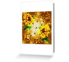 FROM THE FLOWER TO THE HIVE Greeting Card