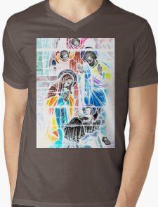 Nativity in Colors Mens V-Neck T-Shirt
