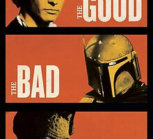 Star Wars Inspired The Good The Bad & The Ugly by dylanwest2010