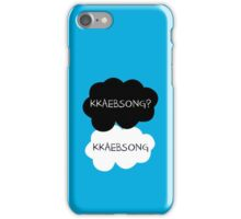 Kkaebsong? Kkaebsong - EXO's BaekHyun iPhone Case/Skin