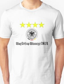 Germany World Cup Winners 2014 Unisex T-Shirt