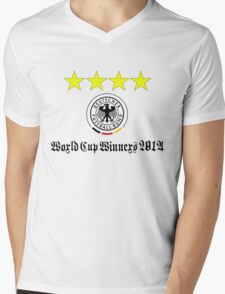 Germany World Cup Winners 2014 Mens V-Neck T-Shirt