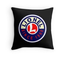 Lionel Vintage Scale Model Trains USA Throw Pillow