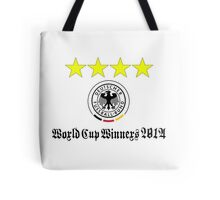 Germany World Cup Winners 2014 Tote Bag