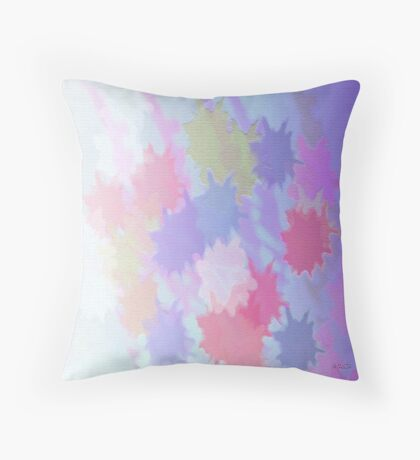 Colour fade Throw Pillow