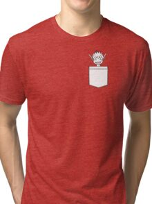 Puck in a pocket Tri-blend T-Shirt