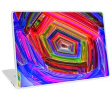 Spectrum Tunnel Laptop Skin
