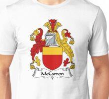 McCarron Coat of Arms / McCarron Family Crest Unisex T-Shirt