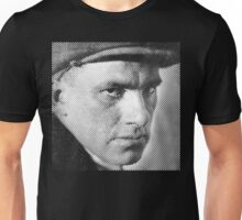 Vladimir Mayakovsky close-up  Unisex T-Shirt