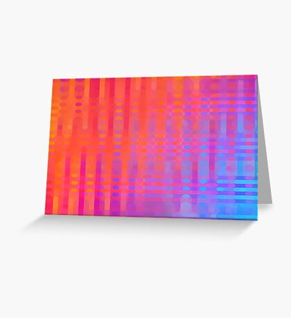 Primary Pattern Greeting Card