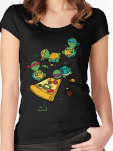 Pizza Lover Women's Fitted Scoop T-Shirt