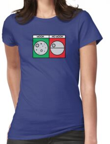 That's No Moon! Womens Fitted T-Shirt