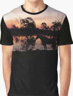 Tranquil Equine Graphic T-Shirt