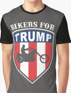Bikers for Trump 2016 Graphic T-Shirt