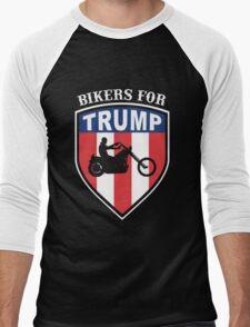 Bikers for Trump 2016 Men's Baseball ¾ T-Shirt