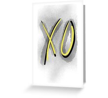 The weeknd - XO Greeting Card