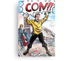 CON!!! Metal Print