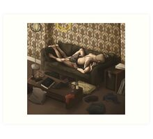 Lazy Afternoon at 221b Art Print