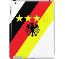 German 4 Stars iPad Case/Skin