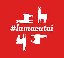 Lamaoutai - where are you lama? Women's Fitted Scoop T-Shirt