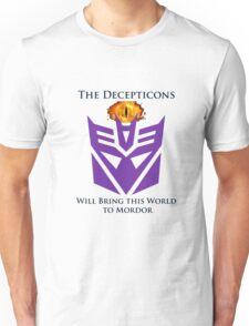 Decipticon eye of Mordor Unisex T-Shirt