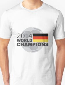 Germany 2014 World Cup Soccer Champions T-Shirt