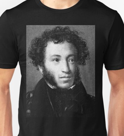 Alexander Pushkin, the greatest Russian poet Unisex T-Shirt