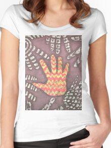 Batik Women's Fitted Scoop T-Shirt