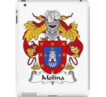 Molina Coat of Arms/Family Crest iPad Case/Skin