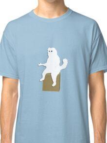 Cartoon Persian Cat Room Guardian Meme  Classic T-Shirt