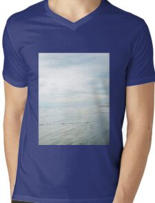 Shimmery Blue - Sand, Sea, Sky Mens V-Neck T-Shirt