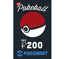 Pokemon Pokeball Pokemart Ad Photographic Print