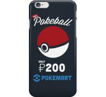 Pokemon Pokeball Pokemart Ad iPhone Case/Skin